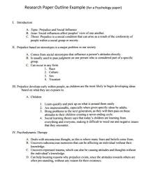 Writing A Research Paper Outline How To Write A Research Paper Outline And Examples At