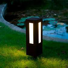garden bollard lighting. Garden Bollard Light / Contemporary Steel LED - BN 010 By Claude ROBIN Lighting