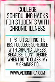 create college class schedule college scheduling hacks for students with chronic illness