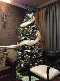 office decor for christmas. decorated christmas tree at our rock hill dental office decor for