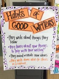 Habits Of Good Writers Whole Brain Teaching Teaching Writing