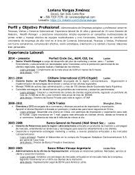 Resumes En Espanol. spanish resume templates cv formats and .