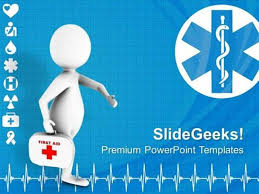 Health 3d Doctor Medical Theme Ppt Template Powerpoint Template