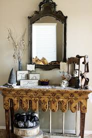 Decorating Console Table Ideas Foyer Console Table Decorating Ideas Little Black Console Table