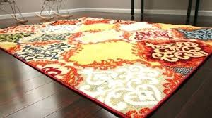 burnt orange and brown area rugs rug white green throw round