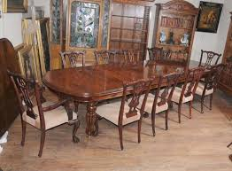 victorian dining table set chippendale chairs set suite gany victorian dining table