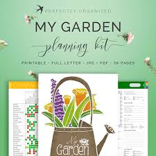 Small Picture Garden Planner Gardener Journal Tracker Seasonal Homestead