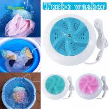 Máy Giặt Vortex Giọt Nước Máy Giặt Mini Cầm Tay Cho Quần Áo Du Lịch Tại Nhà