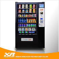 Snack Vending Machine For Sale Cool China Factory Direct Sell Drink And Snack Vending Machine With GPRS