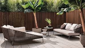 stylish outdoor furniture. Minotti: A Stylish Outdoor Furniture D