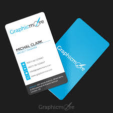 Clean Vertical Rounded Corner Business Card Template Design