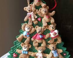 Holly Bearies Ornament, Vintage Holly Bearies, Vintage Ornament, Teddy Bear  Ornament, Christmas