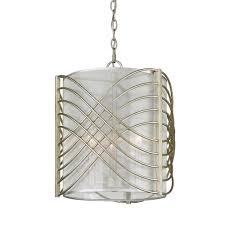 golden lighting zara 3 light white gold pendant
