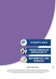calaméo student s book cross curricular approaches to mathematics and sciences