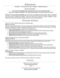Examples Of Summaries For Resumes Summary For Resume Examples Foodcity Me