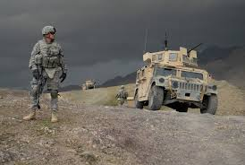 defeat in war. 090219a6797m101 us army 1st lt larry baca from charlie company battalion 4th infantry regiment monitors the weather as a storm moves in outside defeat war