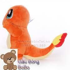 BOBO] Gấu bông rồng lửa charmander pokemon quà tặng ý nghĩa cho bé trai gái  sưu tập