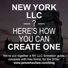 How To Form A New York Llc James Hsui Pllc
