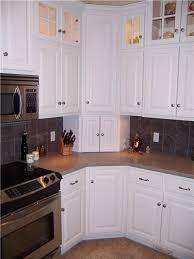 Upper Corner Kitchen Cabinet Ideas | Corner cabinets - upper, lower, and  appliance garage