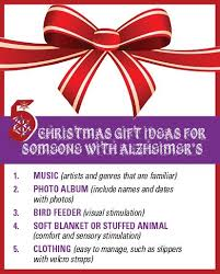here are a few simple gift ideas for someone with alzheimer s disease
