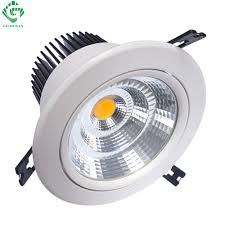 Led Down Lights Us 62 32 24 Off Led Downlights Down Light 7w 10w 12w 15w 20w 30w 40w 50w Round Recessed Downlight Adjustable Ceiling Spot Lamps Kitchen Lighting In