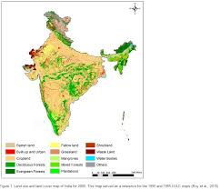 series maps time series maps of land cover and land use changes for india over