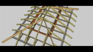 Four Sided Roof Design Hip Roof Erection Procedure
