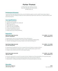Sales Associate Resume Objective Real Estate Sales Resume Samples