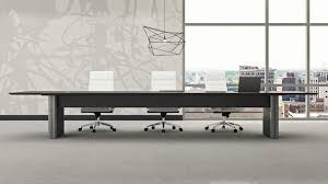futuristic office furniture. furniture u0026 accessories comfort interior futuristic office with grey large wooden table on the a