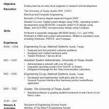 18 Precious Austin Resume Service Sierra