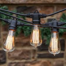 edison bulb lighting. Brightech - Ambience Pro Vintage Edition With WeatherTite Technology Outdoor Weatherproof Commercial Grade Lights Included Antique Edison Bulbs Bulb Lighting