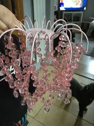 next pink light shade and bed side lamp 12 ono