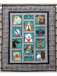 Animal Quilt Patterns Inspiration Animal Quilt Patterns Dogs Only Quilt Pattern