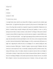 juvenile justice final essay cruz liliana cruz erwc gastelum  2 pages letter to the editor
