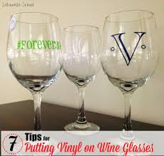 putting vinyl on wine glasses 7 tips for success