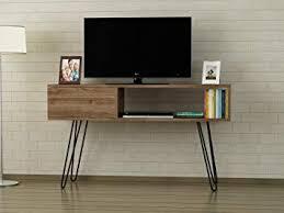 Beautiful Alphamoebel TV Board Lowboard Fernsehtisch Fernsehschrank Sideboard,  Fernseh Schrank Tisch Mit Metallfüßen Für Wohnzimmer I