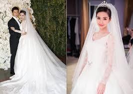12 stunning celebrity wedding gowns of 2015 asia wedding network