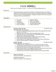 Social Work Resume Skills Social Worker Services Contemporary 100 Work Resumes Samples Resume 16