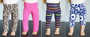 Free Printable American Girl Doll Clothes Patterns Classy Easy 48 Inch Doll Leggings Tutorial Artsyfartsy Mama