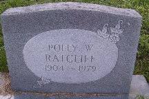 """Estelle """"Polly"""" Welch Ratcliff (1904-1979) - Find A Grave Memorial"""