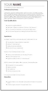Profile Examples Resume Resume Profile Summary Sample Profile