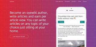 can i earn online by writing articles or in quora here an author can write articles poetry and the best part is the writer gets paid each and every time a reader reads the articles