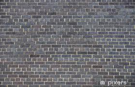 black brick wall wall mural pixers