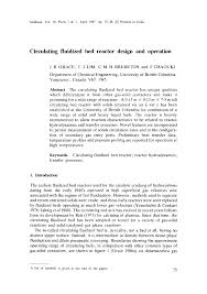Reactor Design For Chemical Engineers Pdf Circulating Fluidized Bed Reactor Design And Operation