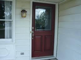 therma tru door sweep fiberglass entry door installation patio screen fire sliding therma tru 36 inch