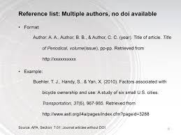 Apa Reference Example Journal Apa Referencing Guide Uk Essays