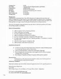 Customer Service Job Description For Resume Luxury Resume Beautiful