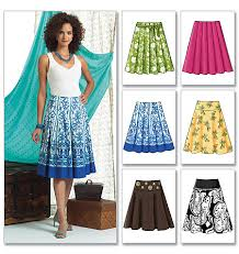Skirt Patterns Awesome B48 Misses' Skirt McCall's Butterick Patterns Sew Cool In