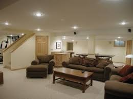 Image Recessed Lighting Basement Lighting Options Home Construction Improvement Basement Lighting Recessed Vs Surface Mounted