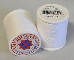 Americana Hand Quilting Thread - White - PennyLane ... & Americana Hand Quilting Thread – White Adamdwight.com